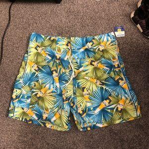 NWT men's swim trunks